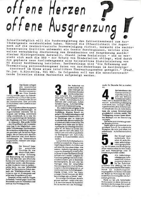 antifa_norderstedt_auslaendergesetz_1990
