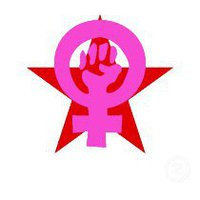 socialist-feminist-red-star